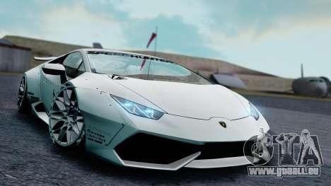 Lamborghini Huracan 2013 Liberty Walk [SHARK] pour GTA San Andreas laissé vue