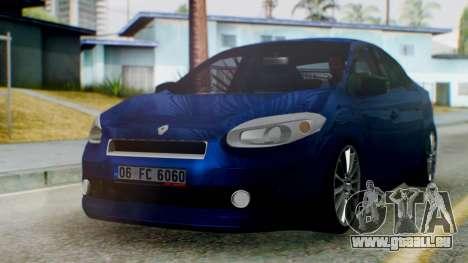 Renault Fluence King pour GTA San Andreas
