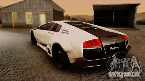 Lamborghini Murcielago LP670-4 SV 2010 pour GTA San Andreas laissé vue