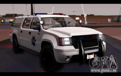 GTA 5 Declasse Sheriff Granger IVF für GTA San Andreas Unteransicht