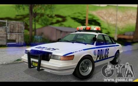 GTA 5 Curie IV White pour GTA San Andreas