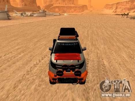 Ford Explorer 2013 Off Road pour GTA San Andreas laissé vue