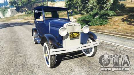 Ford Model T 1927 [Tin Lizzie] pour GTA 5