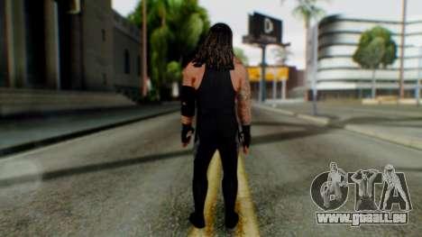 The Undertaker pour GTA San Andreas troisième écran