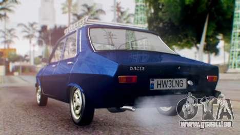 Dacia 1300 v2 pour GTA San Andreas laissé vue