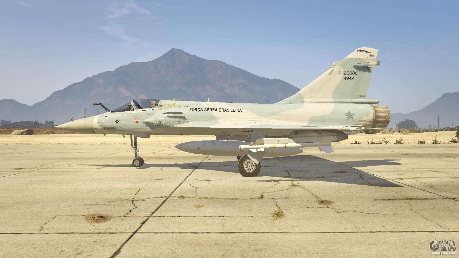 Dassault mirage 2000 c fab pour gta 5 for Interieur mirage 2000