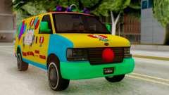 GTA 5 Vapid Clown Van