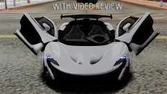 McLaren P1 GTR-VS 2013 pour GTA San Andreas