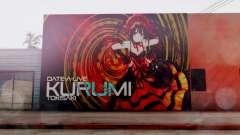 Kurumi Tokisaki Graffiti