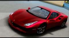Ferrari 488 GTB 2016 für GTA San Andreas