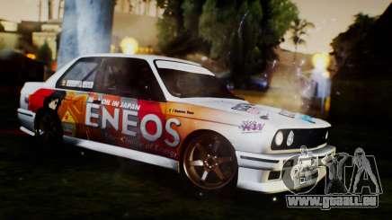 BMW M3 E30 Ramona Rusu pour GTA San Andreas