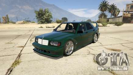 Mercedes-Benz 190E Evolution v1.1 für GTA 5