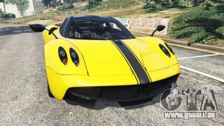 Pagani Huayra 2013 v1.1 [yellow rims] pour GTA 5