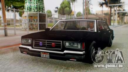 Unmarked Police Cutscene Car Stance für GTA San Andreas