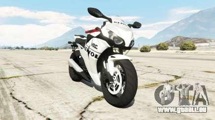 Honda CBR1000RR [Repsol White] pour GTA 5