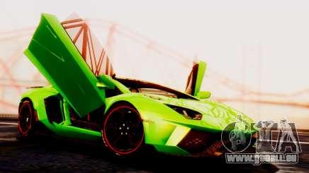Lamborghini Aventador Mansory für GTA San Andreas
