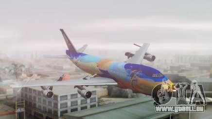 Boeing 747-400 Singapore Airlines Tropical PJ pour GTA San Andreas