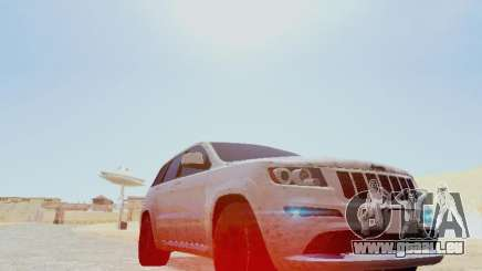 Jeep Grand Cherokee SRT8 2013 Tuning pour GTA San Andreas
