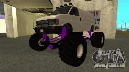 GTA 5 Vapid Speedo Monster Truck pour GTA San Andreas