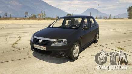 2008 Dacia Logan v2.0 FINAL pour GTA 5
