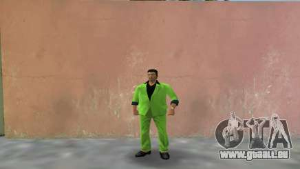 Vert costume pour Tommy pour GTA Vice City