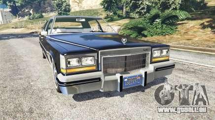 Cadillac Fleetwood Brougham 1985 pour GTA 5