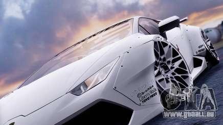 Lamborghini Huracan 2013 Liberty Walk [SHARK] pour GTA San Andreas