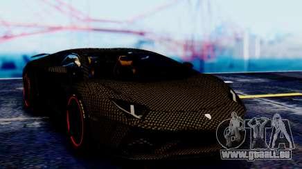Lamborghini Aventador Mansory Carbonado für GTA San Andreas
