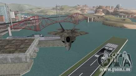 F-22 Raptor PJ für GTA San Andreas