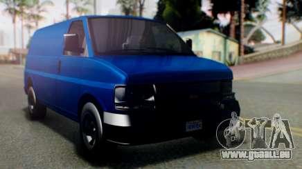 GTA 5 Vapid Speedo für GTA San Andreas