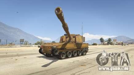 M109 (SAU) Paladin für GTA 5