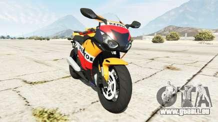 Honda CBR1000RR [Repsol] pour GTA 5