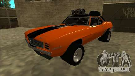Chevrolet Camaro SS Rusty Rebel für GTA San Andreas