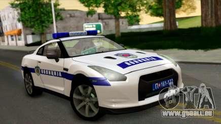 Nissan GT-R Policija für GTA San Andreas