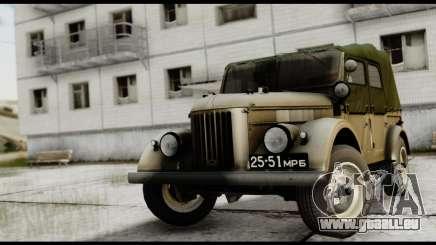 GAZ-69A IVF für GTA San Andreas