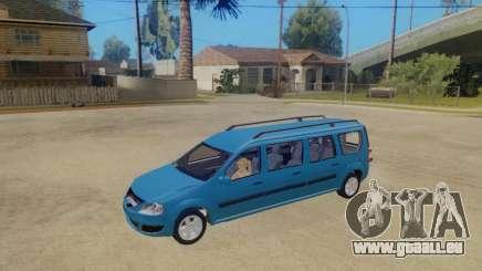 Lada Largus 7-door pour GTA San Andreas