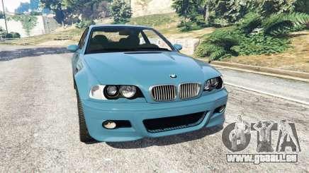 BMW M3 (E46) 2005 pour GTA 5