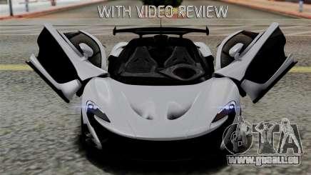 McLaren P1 GTR-VS 2013 für GTA San Andreas