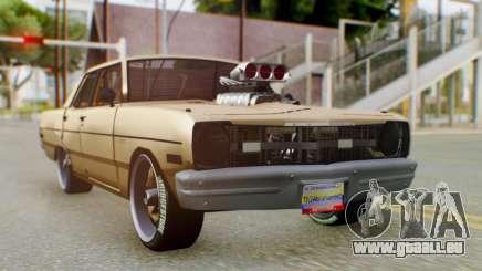 Dodge Dart 1975 Estilo Drag für GTA San Andreas