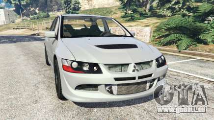 Mitsubishi Lancer Evolution VIII MR pour GTA 5