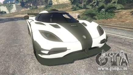 Koenigsegg One1 2014 v1.1 pour GTA 5