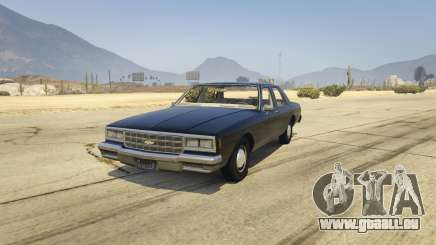 Chevrolet Impala 1985 pour GTA 5