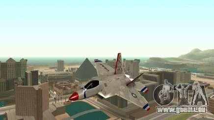 F-22 Raptor für GTA San Andreas