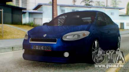 Renault Fluence King für GTA San Andreas