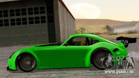 GTA 5 Bravado Verlierer Tuned für GTA San Andreas zurück linke Ansicht