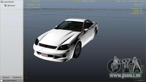 GTA 5 GTA 4 Feltzer droite vue latérale