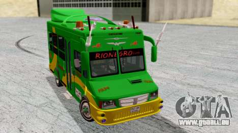 Iveco Turbo Daily Buseton v2 Flota Rionegro pour GTA San Andreas