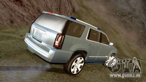 GMC Yukon Denali 2015 für GTA San Andreas linke Ansicht