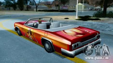 Slamvan New PJ für GTA San Andreas rechten Ansicht