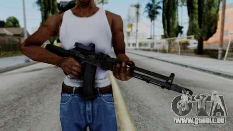 Arma OA AK74-100 für GTA San Andreas dritten Screenshot